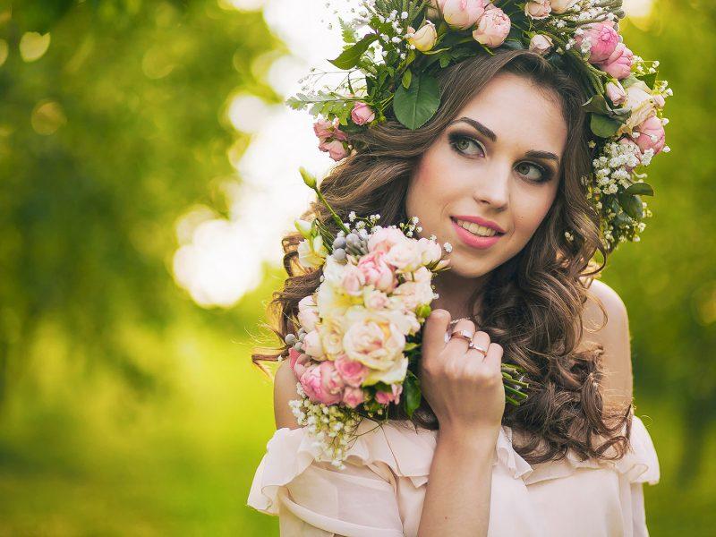 Blumen im Haar, Sonne im Herzen